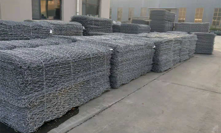 Factory price Alibaba China suppliers wire mesh stone cage gabion baskets