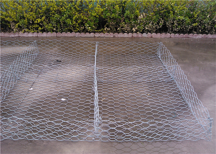 Flexible woven mesh system pvc coated reno gabion mattresses
