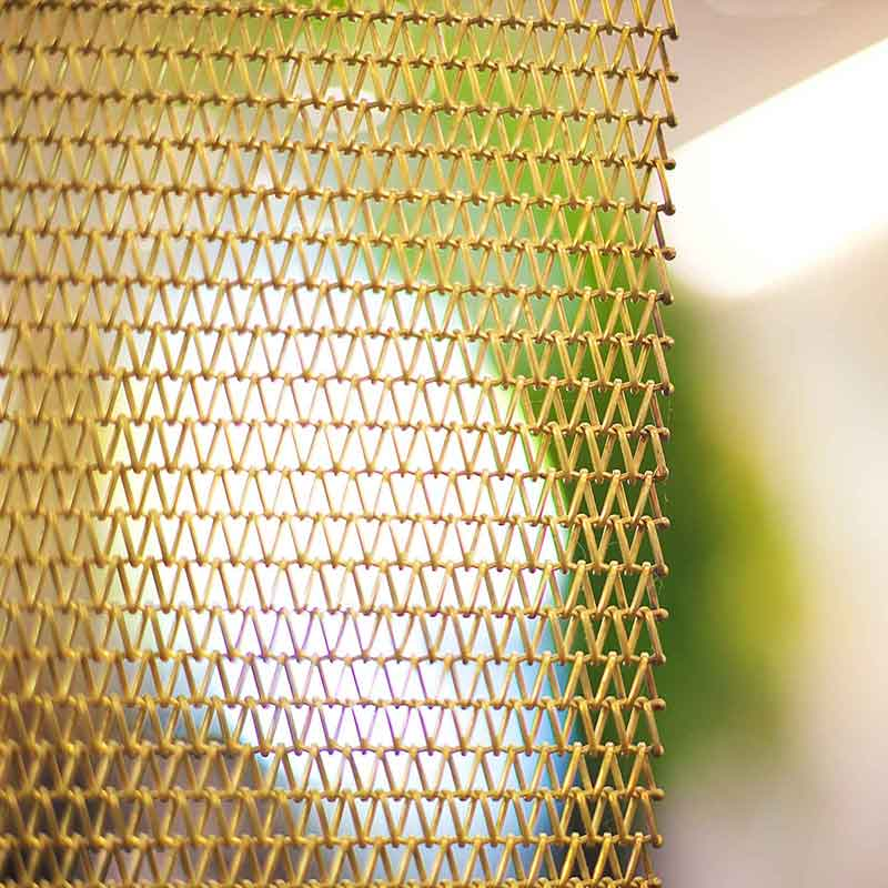 Woven decorative mesh