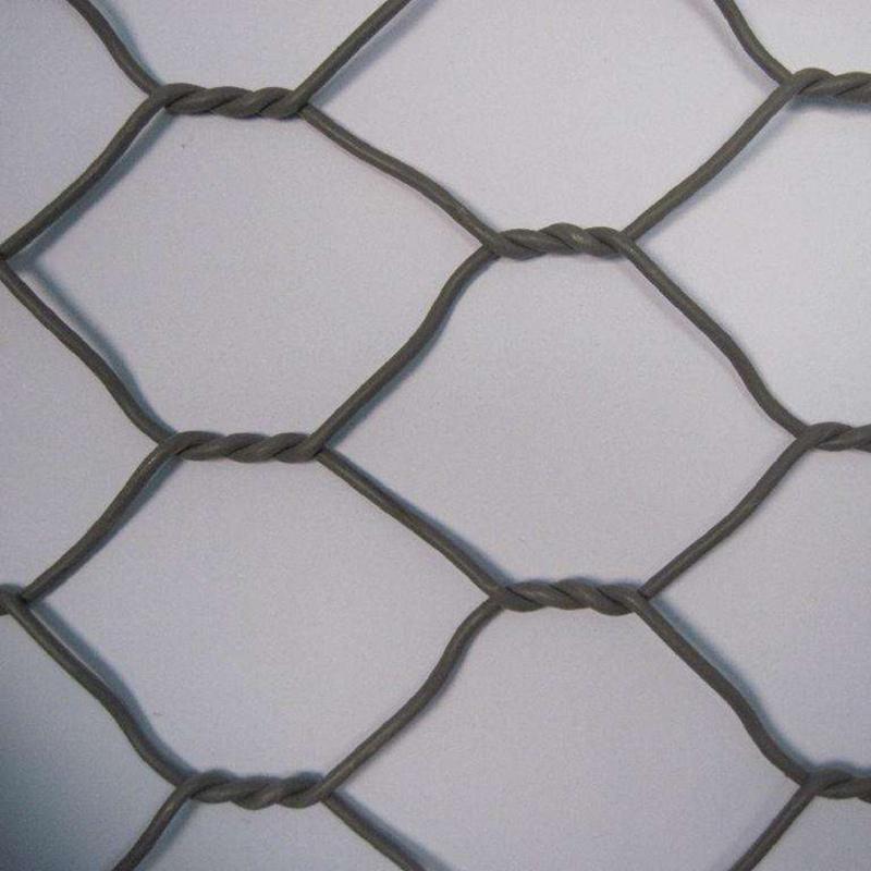 PVC coated hexagonal woven gabion stone cage gabion basket