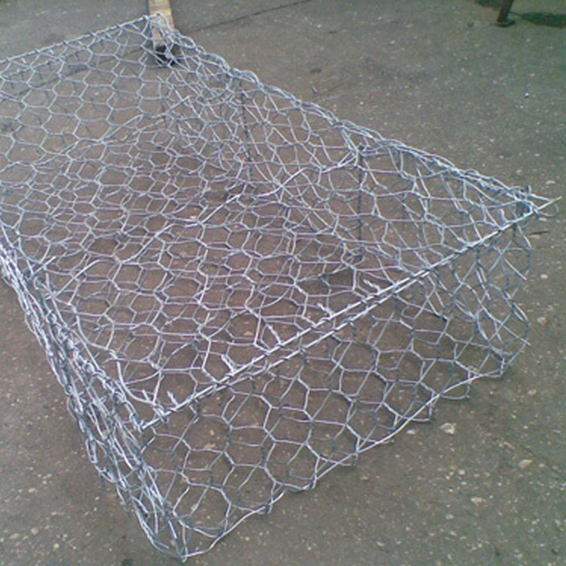 Factory price wire mesh stone cage gabion baskets