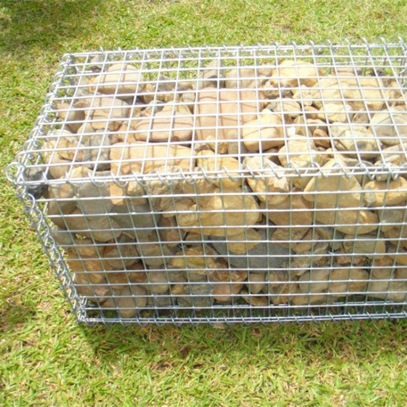 Low Price Gabion Basket / Hot Sale Steel Wire Stone Cage