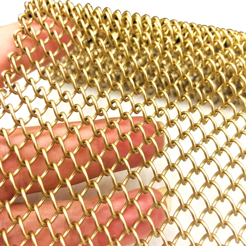 Flexible Stainless Steel Chain Mesh Curtain