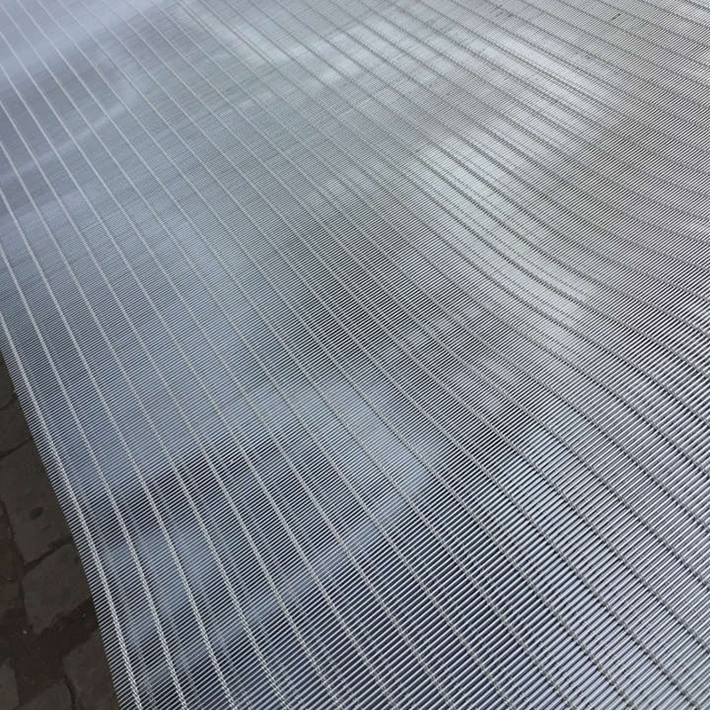 Stainless steel cable facade mesh for architecture