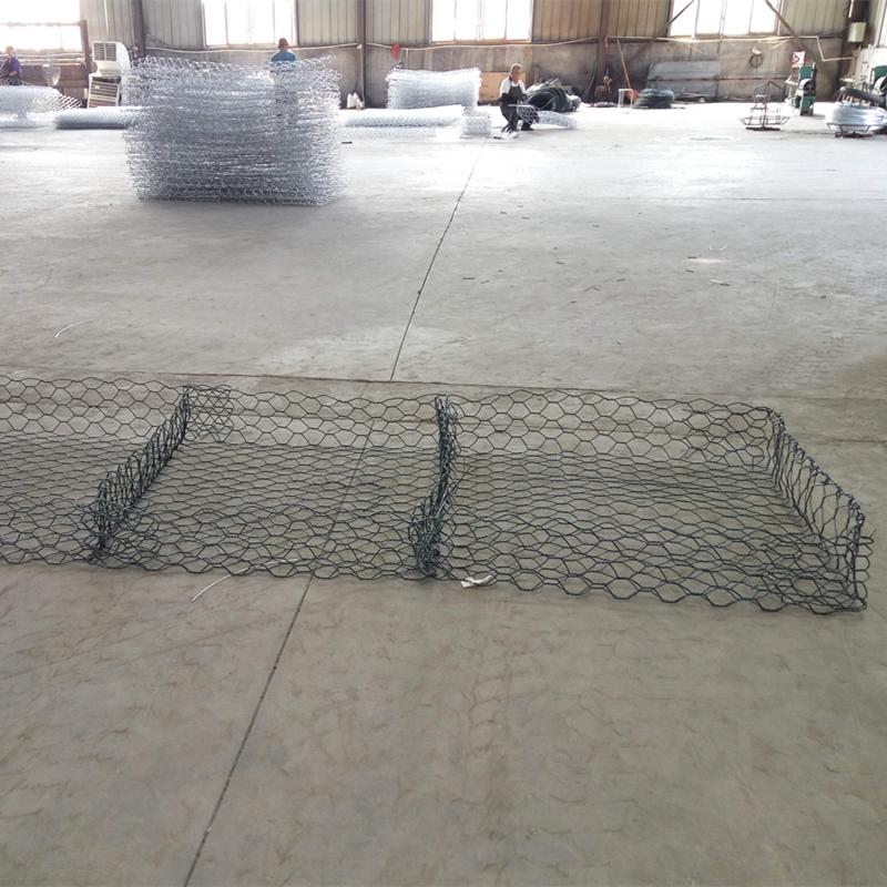 PVC coated reno gabion mattresses