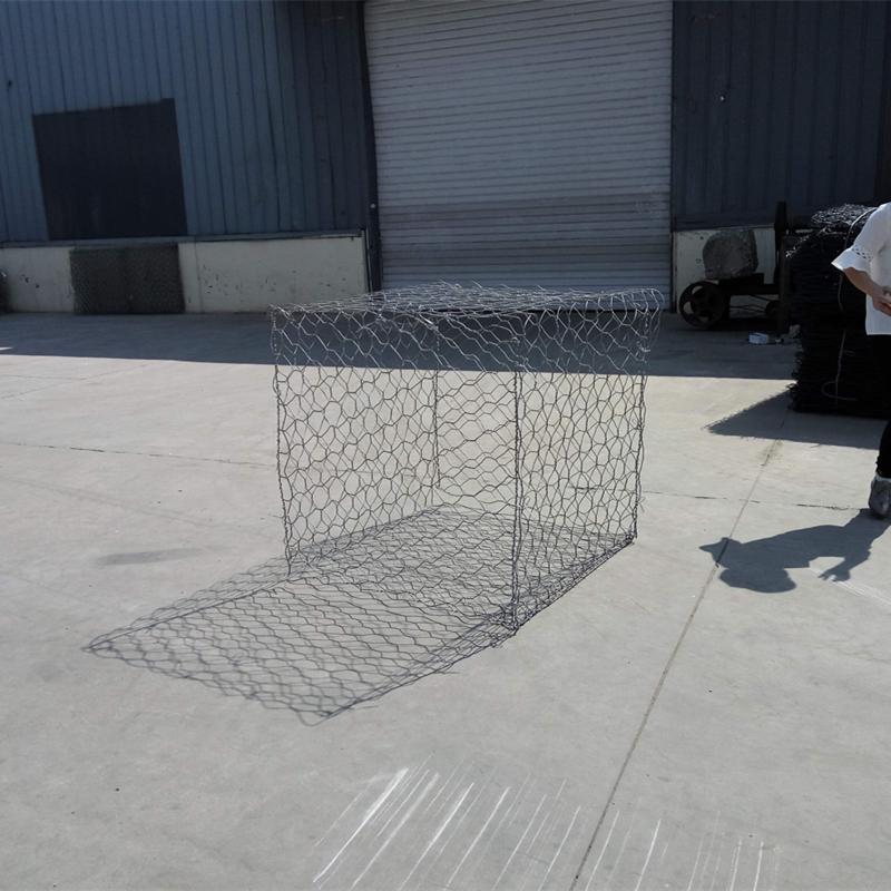 Hexagonal Metal Gabion Baskets For Soil Erosion Protection