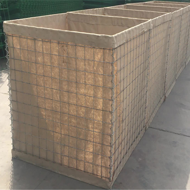 Collapsible Sand And Earth Filled Defence Wall With Non - Woven Polypropylene