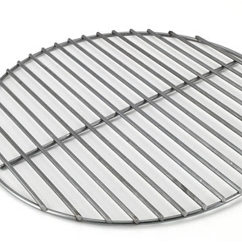 Round Shaped Stainless Barbecue Grill Mesh Mat For Outdoors Activity